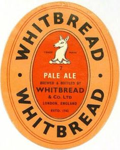 Labels Whitbread Pale Ale Whitbread & Co. English Beer, Sell Your Stuff, Brewery, Ale, Beer Labels, London England, Beer Production, Logs, Vintage
