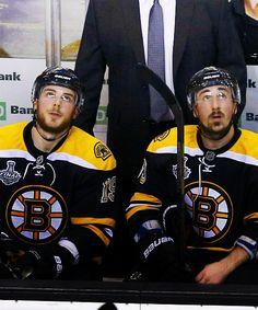 Tyler Seguin and Brad Marchand are the best bromance ever. Hockey Baby, Field Hockey, Hockey Teams, Ice Hockey, Hockey Stuff, Brad Marchand, Poke The Bear, Boston Bruins Hockey, Tyler Seguin