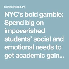 Nycs Bold Gamble Spend Big On >> 181 Best Positive School Climate Images In 2019 Education Week