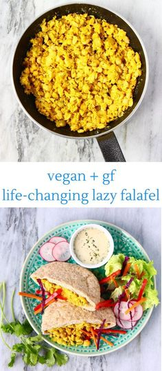 This life-changing Lazy Falafel is unbelievably easy to make, super delicious and really healthy too! Vegan and gluten-free.