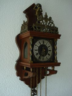 German Original Black Forest Cuckoo Clocks Dutch Wall