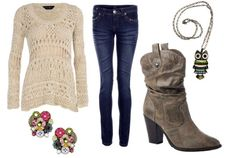 cute clothes to wear with cowboy boots   how to wear cowboy boots - outfit 2