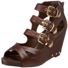 Dolce Vita Women's Helix Platform Sandal,Brown,8 M US (Apparel)