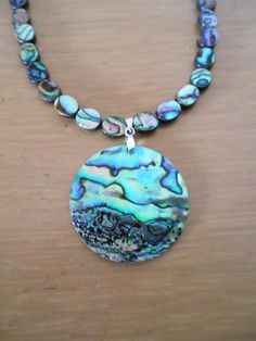 Abalone Obsession/Genuine abalone shell by CreationsbyMaryEllen, $23.99