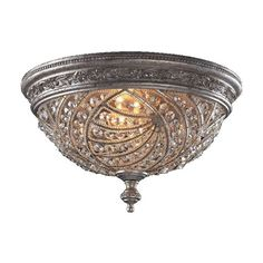 I pinned this Renaissance Flush Mount from the Sophisticated Sparkle event at Joss and Main!
