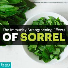 Sorrel - Dr. Axe http://www.draxe.com #health #Holistic #natural