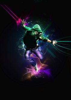 Photo manipulation is one of the hardest and very professional work. It is not that much easy. You should have more than usual professional . Modern Dance, Dance Photos, Dance Art, Photo Manipulation, Hip Hop, Illustration Art, Darth Vader, Photoshop, Deviantart