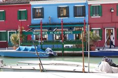 Trattoria Al Gatto Nero - Venice small island Burano. Perfect for a lunch.