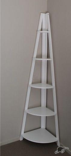 *GREAT SPECIAL* Ladder Corner Shelf. Solid Pine Frame   Trade Me