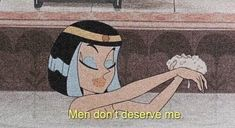 girl, anime y men imagen en We Heart It Bad Girl Aesthetic, Quote Aesthetic, Aesthetic Vintage, Aesthetic Pictures, Aesthetic Yellow, Cartoon Quotes, Cartoon Pics, Cartoon Art, Vintage Cartoons