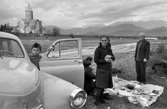 © Henri Cartier-Bresson, Telavi / Georgia (former Russia) Visitors from the Kolkhoz celebrate St George's Day near the Alaverdi Monastery. This photograph is part of the exhibition 'Henri Cartier-Bresson. The Compass in the Eye:. Classic Photography, Candid Photography, Vintage Photography, Black And White Photography, Street Photography, Minimalist Photography, Urban Photography, Color Photography, Documentary Photography