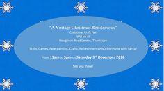 "Rendezvous Emporium: Our First Christmas Fair!  ""A Vintage Christmas Re..."