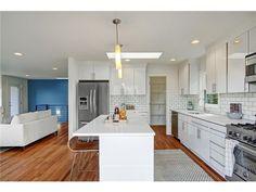 NOTE: Simple white Ikea kitchen