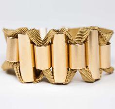 Marion Vidal SS2013 Grand Gold Orpheon Bracelet #ModeWalk #luxury #fashion #MarionVidal #jewelry #bracelet #gold