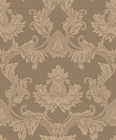 Clara Pluma by Albany - Antique Gold - Wallpaper : Wallpaper Direct
