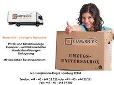 Bewernick Transporte & Umzüge  in Hamburg & Umgebung
