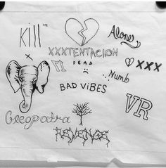 Juice world make a song for x. Bild Tattoos, Body Art Tattoos, I Tattoo, Tatoos, Xxxtentacion Quotes, Rapper Art, Rap Wallpaper, I Love You Forever, Future Tattoos