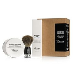 Discover Baxter of California Shave 123 Kit, a set of high quality shaving cream, after shave balm, and natural badger hair shave brush Shaving & Grooming, Men's Grooming, Shaving Brush, Wet Shaving, Mens Shaving Set, Baxter Of California, Cool Fathers Day Gifts, Shaving