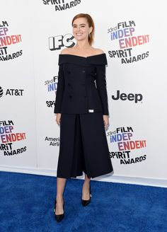 Zoey Deutch attends the 2018 Film Independent Spirit Awards on March 3, 2018 in Santa Monica, California.