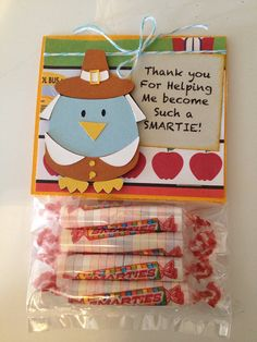 Teacher Gift on Etsy, $2.50 Thanksgiving gifts or teacher appreciation!