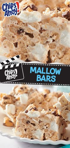 Summer snack is easier with these CHIPS AHOY! Mallow Bars. To make, mix melted butter with marshmallow creme, peanut butter chips and ¾ a package of miniature marshmallows. Microwave mixture until melted, stirring every 45 seconds. Mix in 3 cups of ring-shaped honey-nut whole grain oat cereal, a cup of roasted  peanuts, 3 cups of chopped CHIPS AHOY! cookies and the remaining marshmallows. Press into a greased pan lined with foil, top with crushed CHIPS AHOY! and let it cool before enjoying!