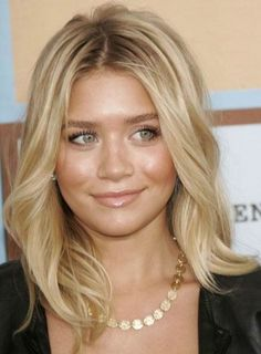 Trendy Medium Length Hairstyles 2012 - love this color and style