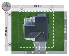 DOM.PL™ - Projekt domu AN TYMOTEUSZ G2 CE - DOM AO10-56 - gotowy koszt budowy Cube, House Plans, How To Plan, Projects, Houses, Modern Houses, Log Projects, Home Plans, House Floor Plans