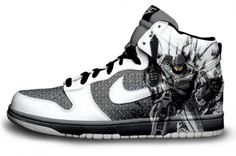 Robocop Nike Dunks. -- shit these are too sick!!! Adidas Shoes f6bde8e00