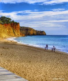 Praia de Porto de Mós - Lagos - #Portugal