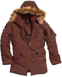 af35cb3e5ae Куртка аляска Altitude Parka Alpha Industries (коричнева) Розміри   XS