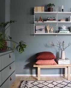 Is To Me - Scandinavian Design, Homeware, Accessories & Bedroom Corner, Home Bedroom, String Pocket, String Shelf, Old Room, Scandinavian Home, Bedroom Styles, Beautiful Bedrooms, Living Room Designs