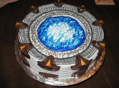 Stargate Cake - 10 Awesomely Geeky Cakes
