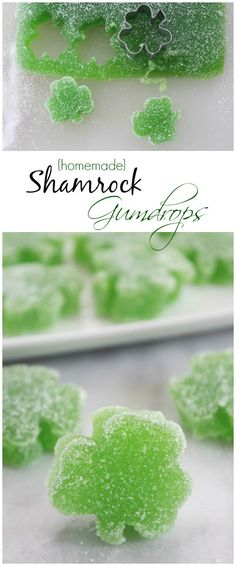 Shamrock Treats for St. Patrick's Day! Easy St. Patrick's Day Candy Gumdrops!