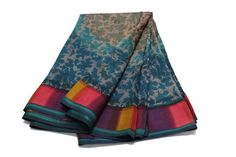 FAST SHIPPING Indian Vintage Ethnic Sari Antique Printed Clothing Indian Fabric #Unbranded #FreeStyle