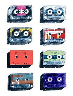 nostalgia! Tapes by Brian Ground