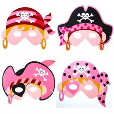 girls pink pirate masks x 4 - party bag fillers - fancy dress - hen nights with fast delivery buy now.From Gifts N Party Pirate Dress Up, Pirate Party Supplies, Costume Bags, Pirate Invitations, Pirate Kids, Girl Pirates, Pirate Theme, Party Bag Fillers, Mask Party