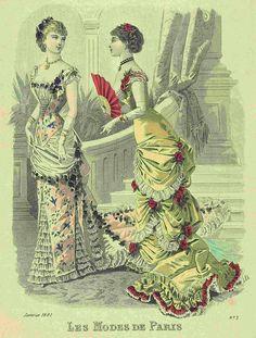 Les Modes de Paris 1881