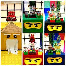 Diy Ninjago Birthday Party, Ninja Birthday Parties, Harry Birthday, Kids Birthday Themes, 5th Birthday, Lego Ninjago, Festa Ninja Go, Kids Party Games, Animation
