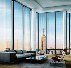 New York Penthouse View WANT! WANT! WANT!