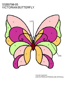 Butterfly Template   Butterflies & Moths   Free Stained Glass Patterns