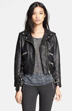 The Kooples Leather Moto Jacket | Nordstrom