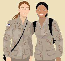 art of army women soldiers - Google Search