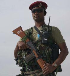 Indian Air Force Garud Commando Force.