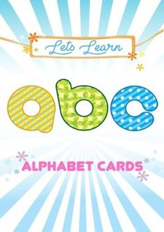 """Alphabet Cards to help children to learn about ABC, and can be a decoration for your classrom/home. Made it with cute design, simple objects, and bright color to appeal your children. For best quality, please print on cardstock or laminate them! *Postcard size : 4,1/4"""" x 6"""" -Love- MissMissG"""