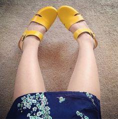 Sven Clogs - Google+ Hello Sunshine! Yellow Leather Clogs - Sven Clogs  http://www.svensclogs.com/catalogsearch/result/?q=104-