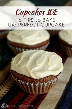 10 Tips to Bake the Perfect Cupcake