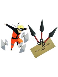 Buy Naruto Ninja Kunai Three Knife Set Halloween Cosplay Weapon, Cosplay offers the very most-like style of the hero and heroine for your unique Cosplay needs. Naruto Costumes, Naruto Cosplay, Anime Costumes, Cosplay Costumes, Anime Cosplay, Cosplay Ideas, Cosplay Sword, Cosplay Weapons, Anime Weapons