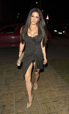 Casey Batchelor in a Blazer Dress - Heading to the Bonded By Blood 2 Wrap Party at Sugar Hut-5
