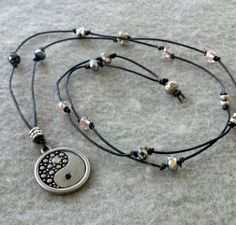 Yin Yang Crystalized Necklace. Starting at $1 on Tophatter.com!