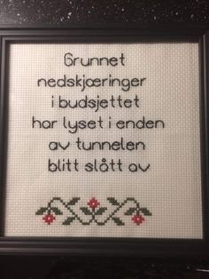 Guerrilla, Note To Self, Funny Images, Cross Stitch Embroidery, Real Life, Knit Crochet, Poems, Funny Quotes, Wisdom